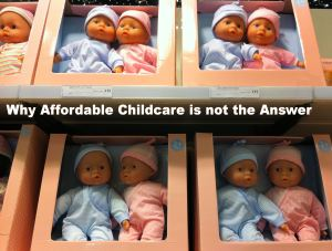 Affordable childcare