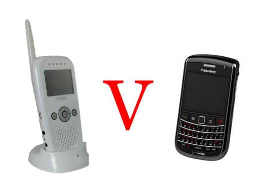 Babymonitor v Blackberry
