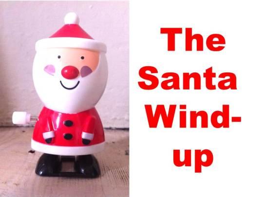 Wind-up santa
